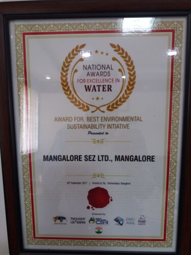 National award for environmental sustainability 2017